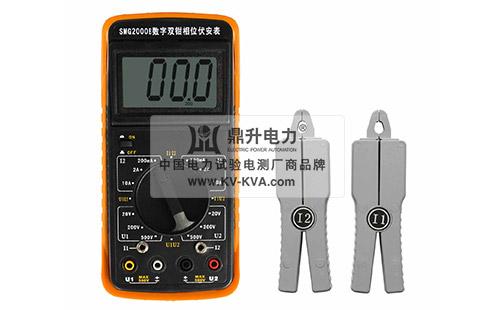 用测量电压,电流及相位