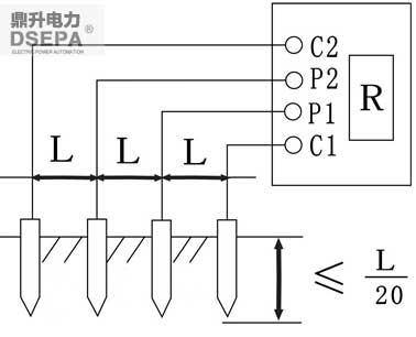 如何使用der2571数字接地电阻测试仪测量土壤电阻率