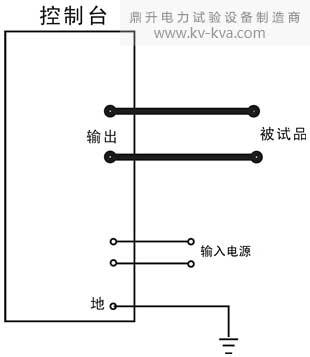 装置整体式接线示意图