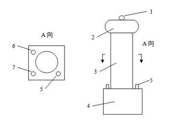 zgf直流高压发生器高压倍压控制箱及操作箱面板结构说明