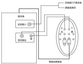 全自动抗干扰介损测试仪cvt自激法测量接线方法