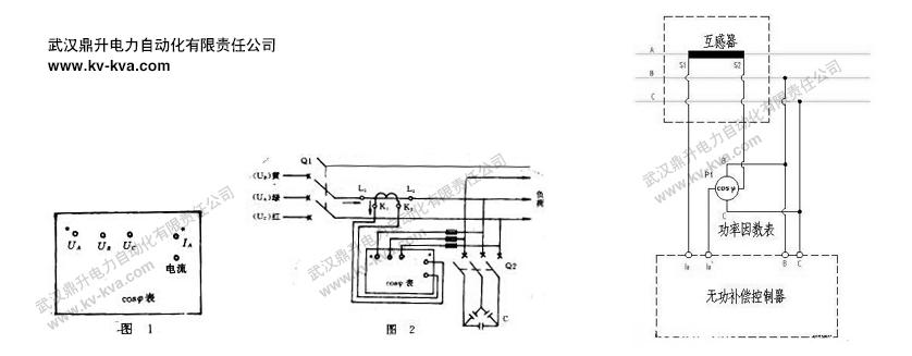 功率因数表,三相功率因数表接线图及使用方法
