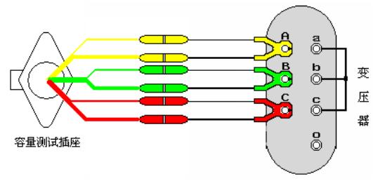 变压器容量及损耗参数测试仪容量测试接线